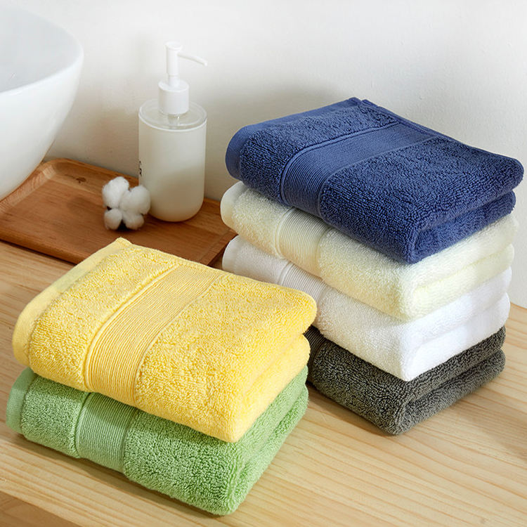 Winning Wholesale Luxury Hotel und SPA 100% Genuine Turkish Cotton Face/Bath Towels Solid Color Bath Towels mit Logo