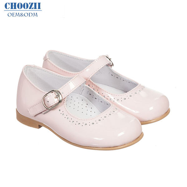 XinYiQu Girls Flower Toddler Dress Shoes Leather Princess Mary Jane Ballet Flat