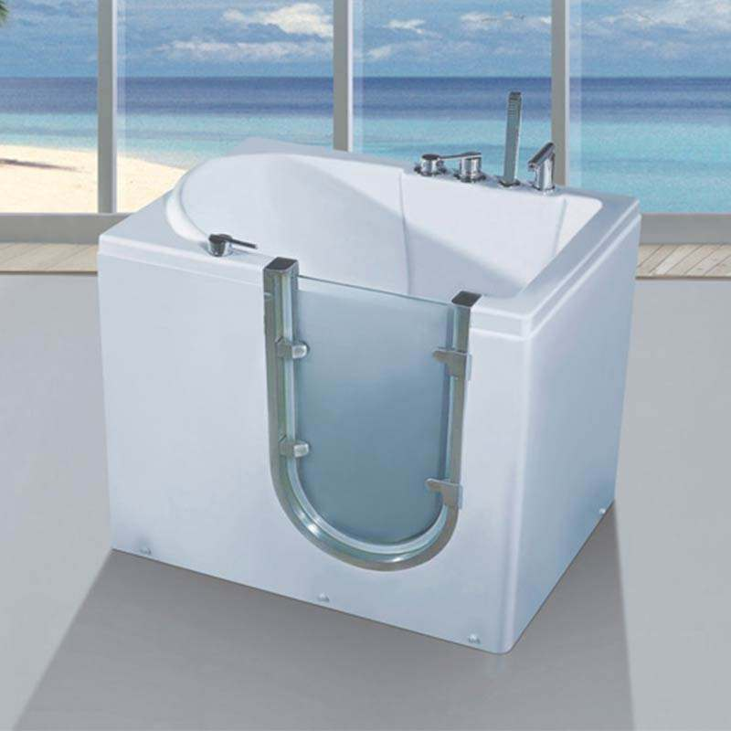CBMMART China hot sale tubs large walk-in bathtub for disabled and elderly