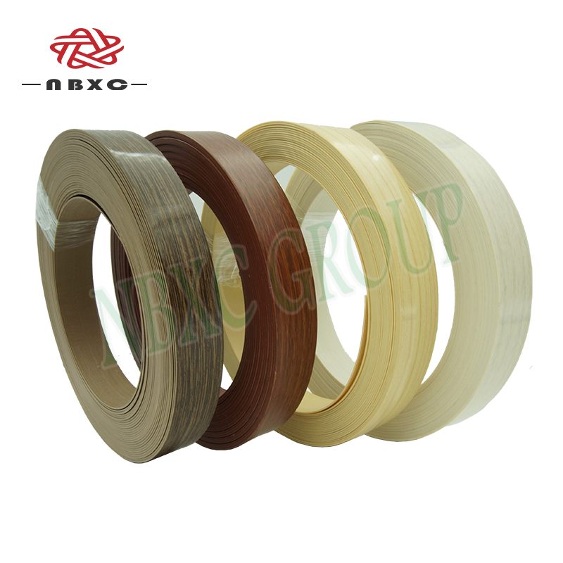 Office /Table Furniture Accessories PVC Plastic Edge Banding Tape For Furniture/Kitchen Cabinet Board