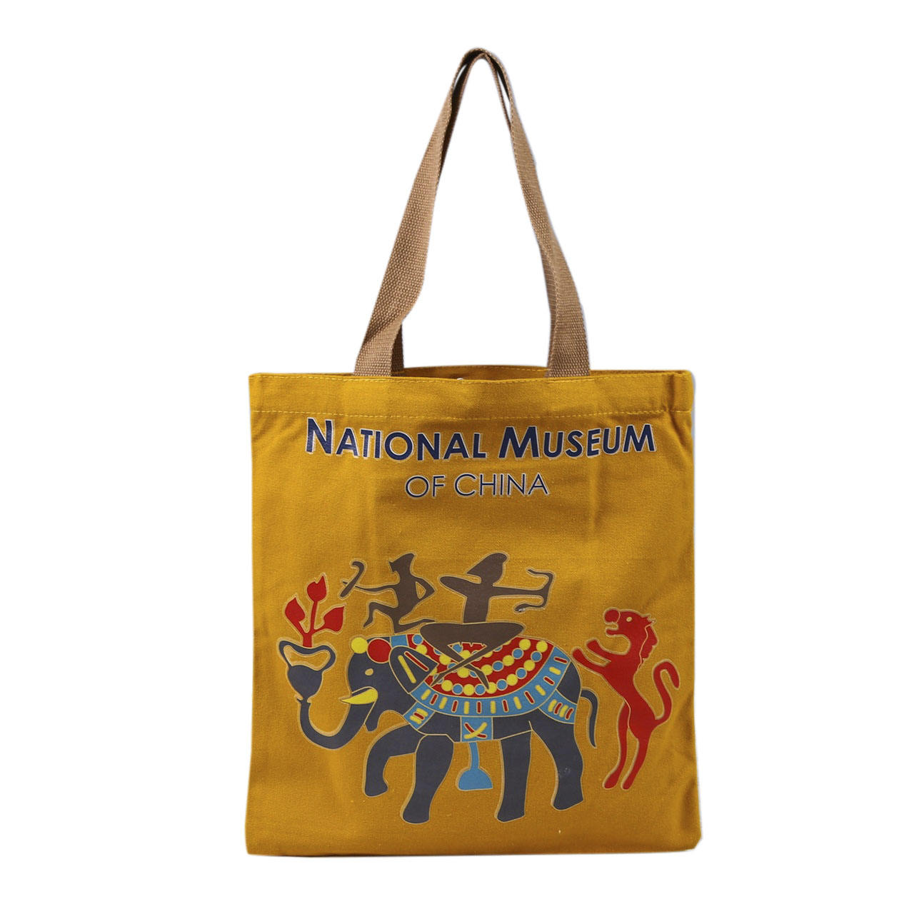 Wholesale Customized Southeast Asia Style Medium Capacity Canvas Bag Tour Travel Promotional Tote Bag