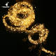 Newish 2.0M 640 Bulbs outdoor adapter warm white led chain micro rice cluster string copper wire light for christmas decor