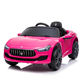 Pink color for Girls Gift Official Licensed Maserati Cool Driving Baby Electric 12V Ride On Car with R/C