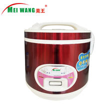 Factory wholesale 1.0L, 1.5L, 1.8L, 2.2L, 2.8L deluxe rice cooker with steel outer shell and white inner pot