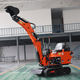 Durable Integrated Undercarriage 0.8t 0.8 Ton 800kg/800 Kg Used Excavator Mini New Digger