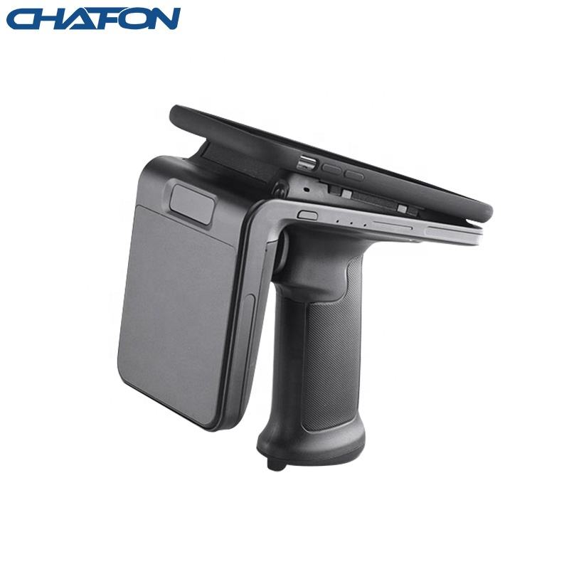 Chafon long distance android bluetooth ISO 18000-6c uhf rfid handheld scanner for race timing system android rfid reader