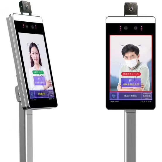 Human Body Facial Recognition with Temperature instrument