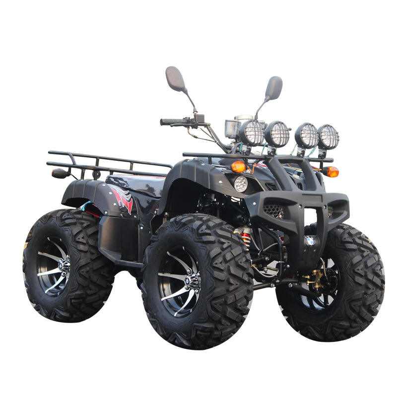 (Max speed 50km/h !!!) Shaft Driving Electric 4wd ATV 4000w 60v Adult Electric ATV