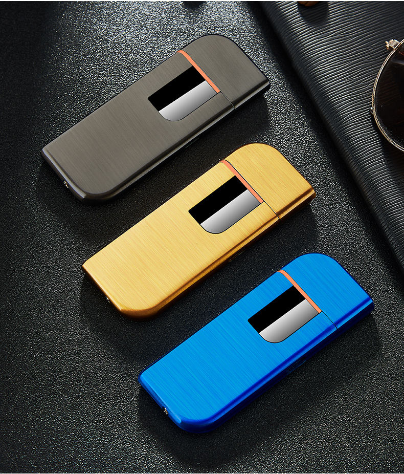 Creative USB Lighter Touch Lighter , Promotional Gift Rechargeable Touch Lighters