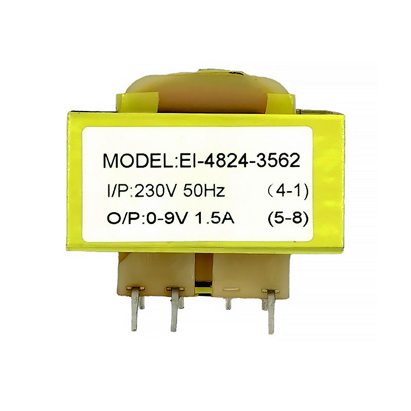 Pure Copper Step Down 5V 9V 24V 12V PCB Mount Current EI 48 Power Transformer