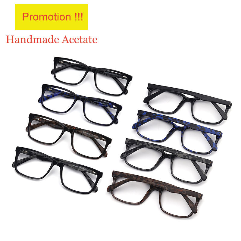 Cheap Price Square Type And Custom Logo Eyeglasses Optical Frame In Stock