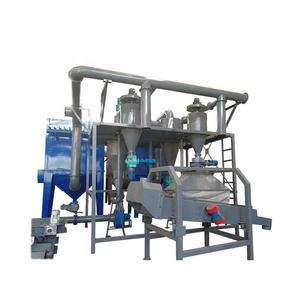 Group Waste Lead Acid Battery Crusher Recycling Machine