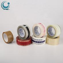 Wholesale Custom Logo Printed Transparent Strong Bopp Carton Shipping Packing Adhesive Tape