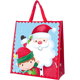 Gift Bags Hot Sales Large Cartoon Pattern Package of Christmas Woven Bag