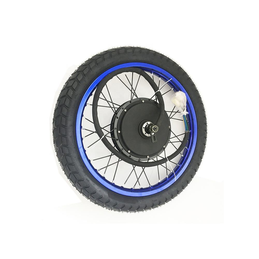 18inch 19inch Colorful wheel 5000w electric bike conversion kit electric motorcycle kit