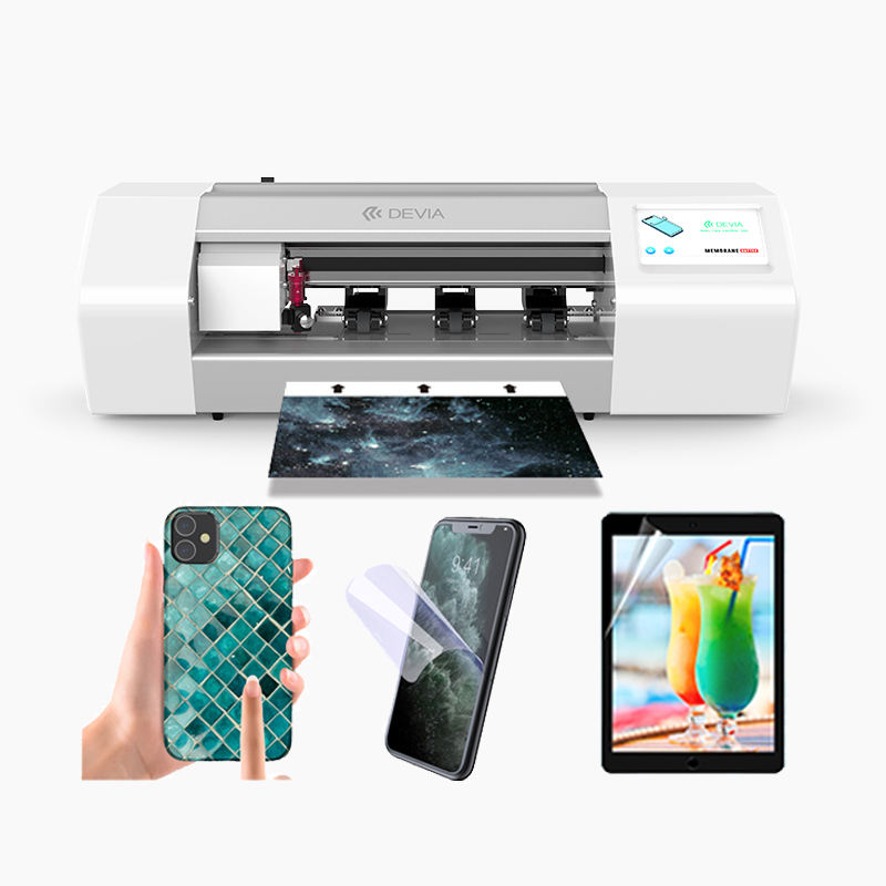 Devia cutter cutting machine for making mobile phones tpu laminating touch guard screen protector