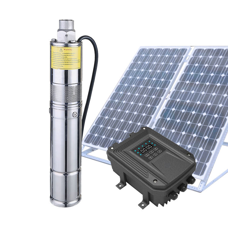 1500w Dc Solar Water Pump Price Submersible Pump Solar Energy System For Agriculture Irrigation