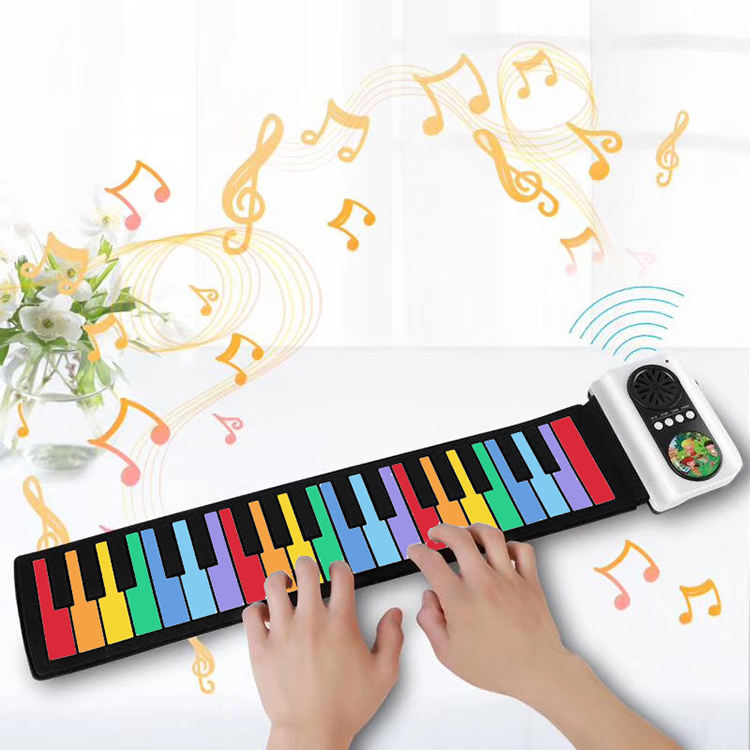 Studio Flexible Playmat Folding Adjustable Portable Professional Kids Digital Piano