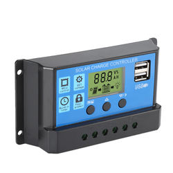 promotion 20A PWM solar charger controler LCD display