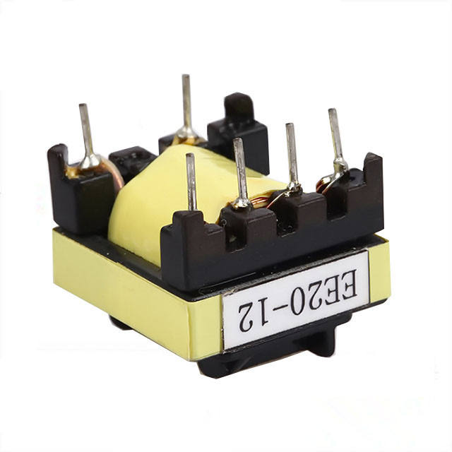 bobbin 6+6 pin ferrite core ee55 high frequency transformer 100khz