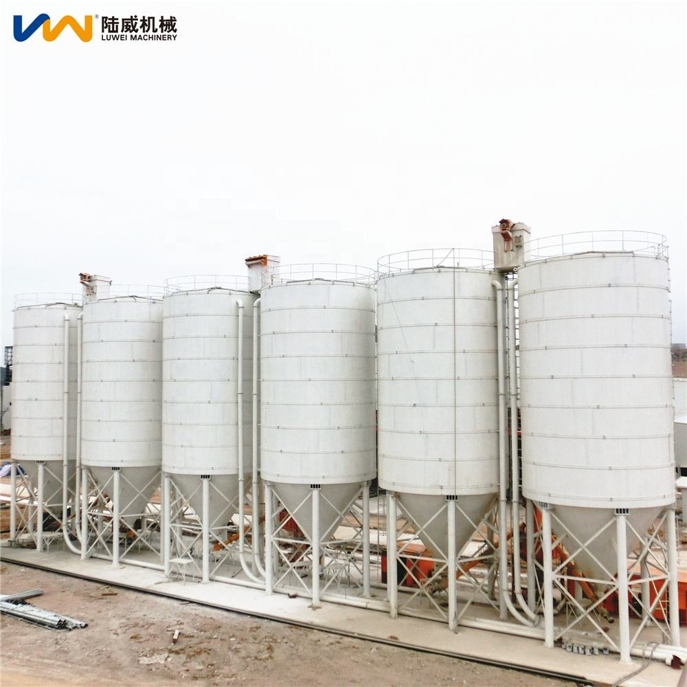 silo ciment vertical as construction equipment used on concrete batching plant