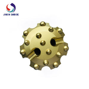 Factory direct sales taper button 38mm rotary rig conical bullet earth auger drilling bit for jack hammer
