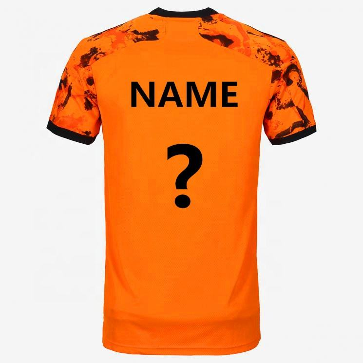 2020 2021 Orange football jersey player version soccer shirt top quality