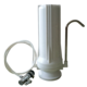 alkaline multiple satages countertop drinking water filter with white housing