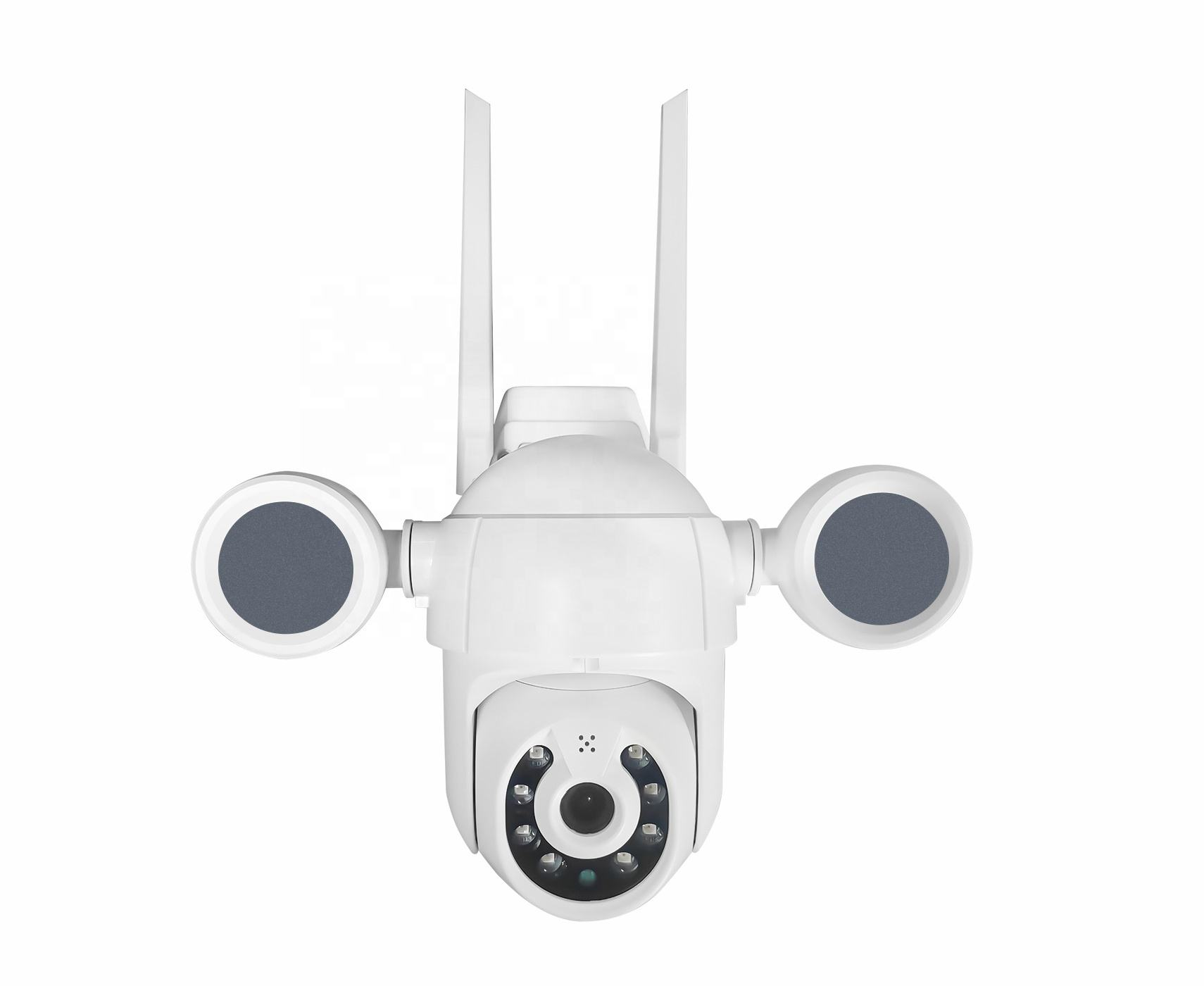 Tuya 2MP Wifi Ip 1080P Beveiliging Draadloze <span class=keywords><strong>Camera</strong></span> Outdoor Full Color Nachtzicht Binnenplaats Lichten Wifi Ip Ptz <span class=keywords><strong>Camera</strong></span>