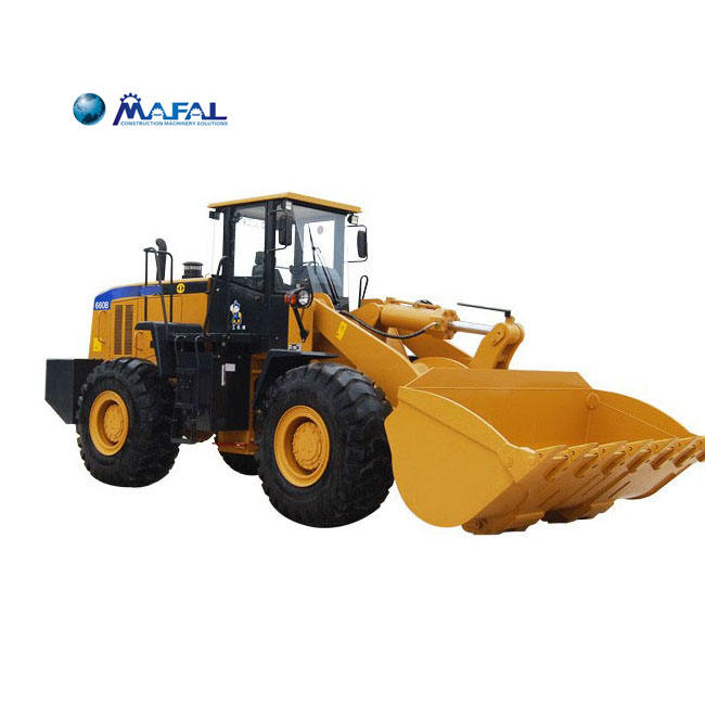 High Configuration 6Ton wood Front End Wheel Loader SEM669C
