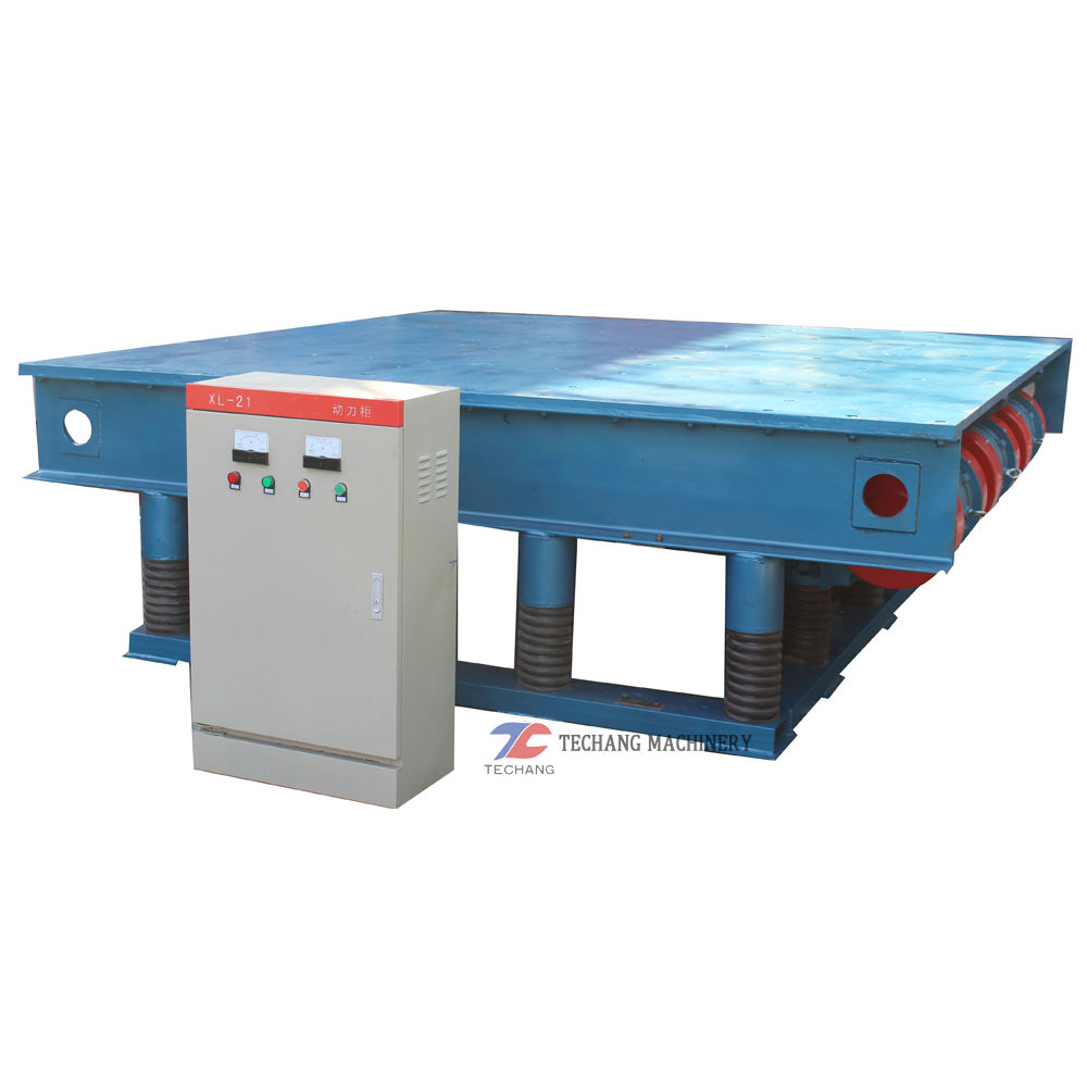 Long Lifetime [ Concrete ] Vibrating Table Concrete Machine Vibrating Table Concrete Machine For Paver Blocks