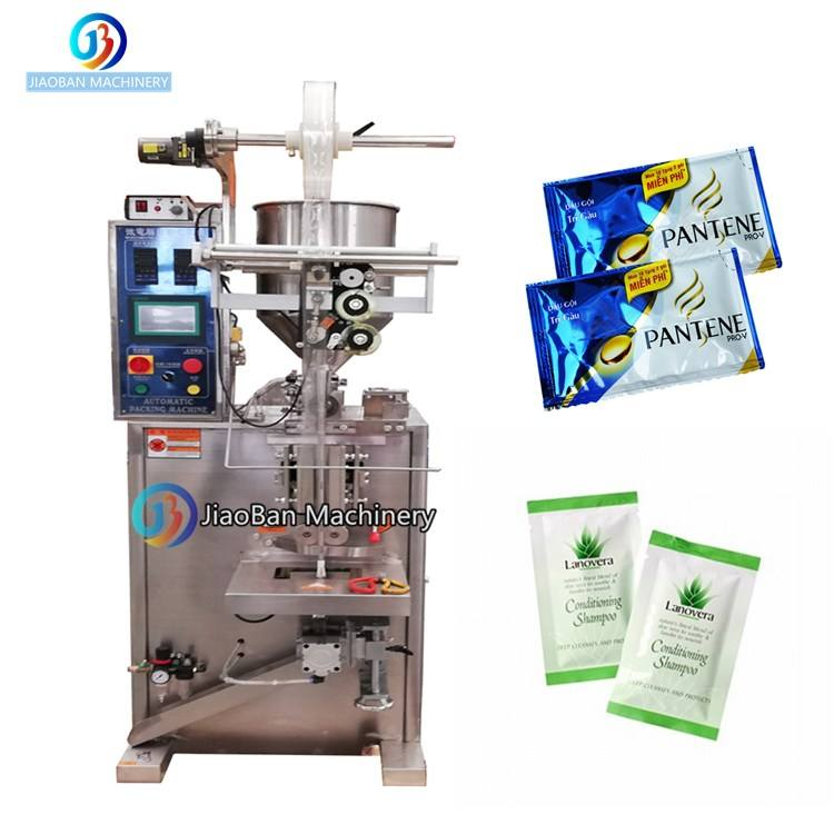 Hot sale JB-150J automatic detergent /shampoo sachet packaging machine