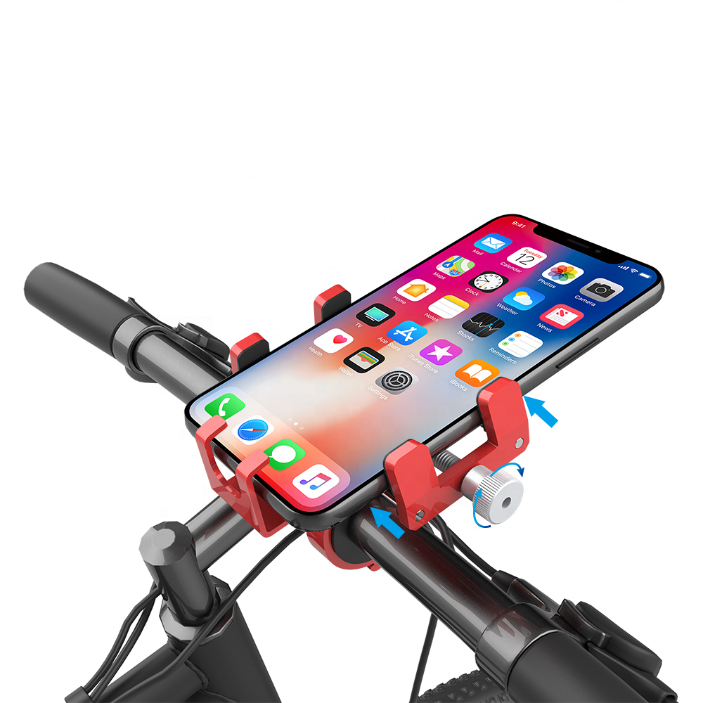 360 Degree Rotation Bicycle Bike Mobile Phone Mount Holder Universal Adjustable Motorcycle Handlebar Mount