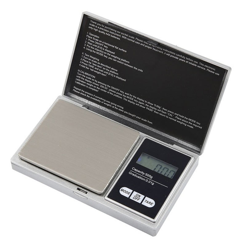 High Quality Jewelry Scale Mini Digital Pocket Most Accurate Pocket Scale Milligram Digital Scale