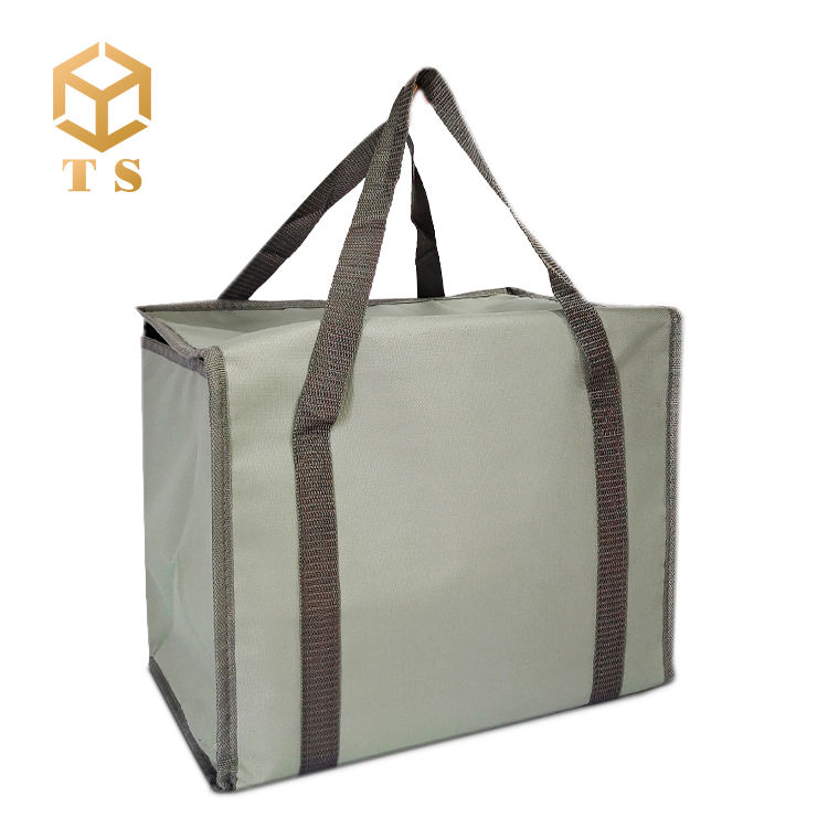 Low Moq Reusable Cheap Aluminum Foil Insulation Delivery Hot Cold Takeaway Lunch Cooler Bag Thermal