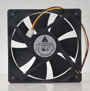 Original for delta AFB1212SH 12025 12cm DC 12V 0.80A 3-line axial cooling fan