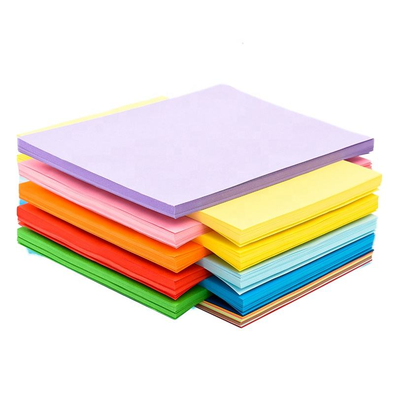 Classy 70g 80g 180g 300g A4 Size Origami Handicraft Student heavyweight colored Construction Paper