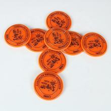 New product custom plastic colorful stamping game token coin