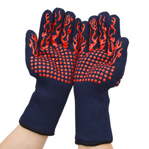 Aramid Barbecue Oven Glove Handschuhe 932F Extreme Heat Resistant Glove Grill BBQ Glove for Cooking Baking