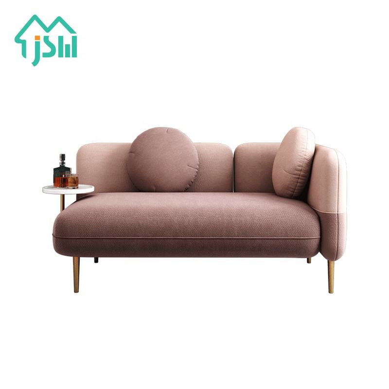 Living Room Design Modern Loveseat Home Furniture 2 3 Seats Sofa With Side Table