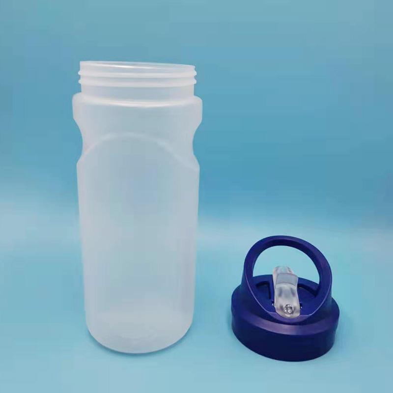 Usine directe 500ml nouveauté bouteille de sport blanc laiteux haute température d'extrusion de bouteille