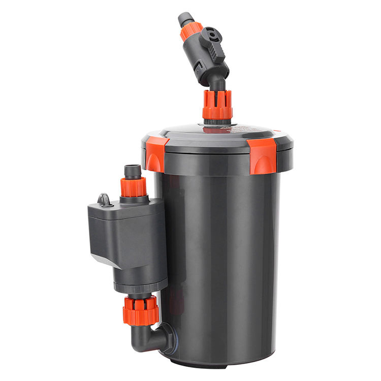 small power top aquarium water filter