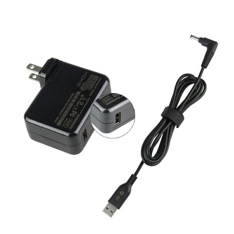 2019 New Quick Charger USB-A 5V 4A//12 V4A LCD 5.5mm*2.5mm Power Adapter 65w 45w usb type c pd adapter for dell /HP/Asus/ Lenovo