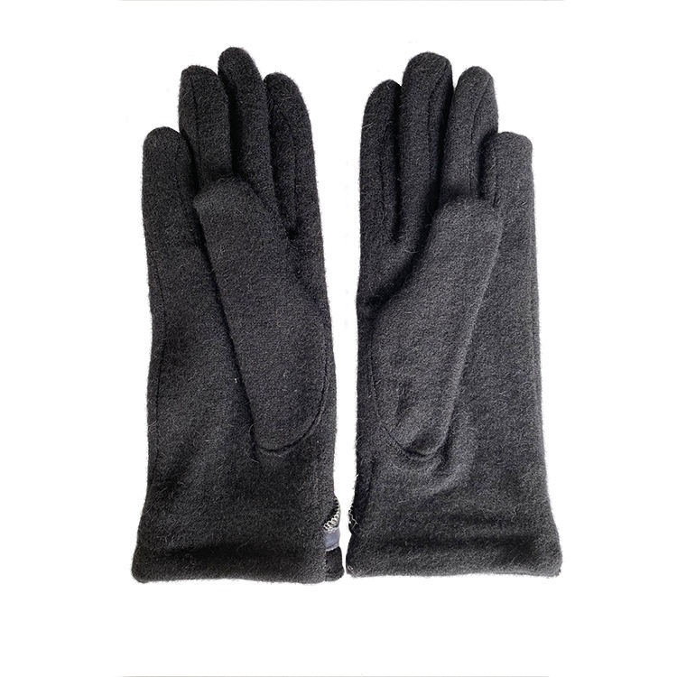 good quality winter warm fleece gloves fur women