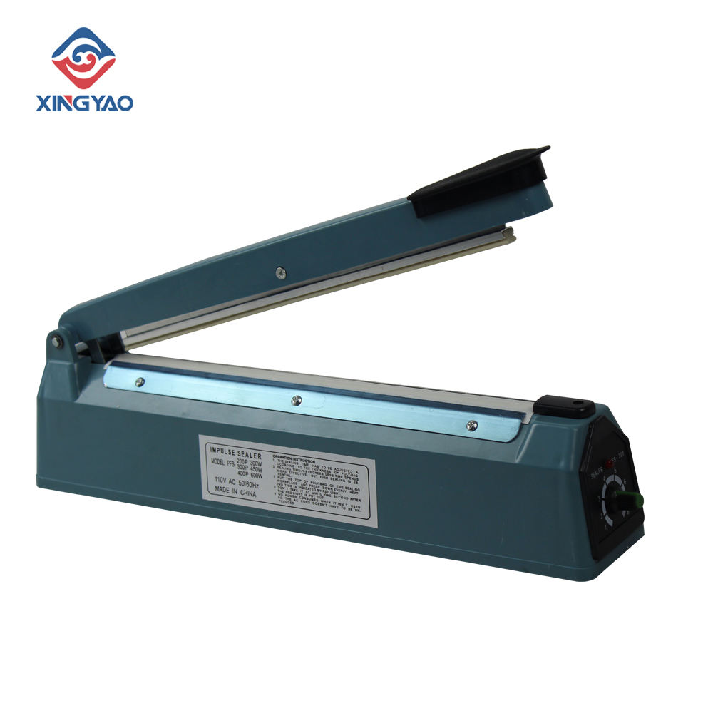 Portable 450W Hand Sealing Plastic Films Machine Easy Operation Perfect Impulse Sealing Equipment For Stores/Hospital