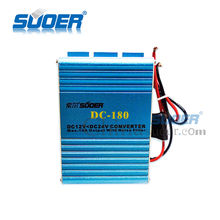 Suoer Car Setp Up Converter 10A Car Power Transformer DC 12V to DC 24V Converter Single Output Type Converter