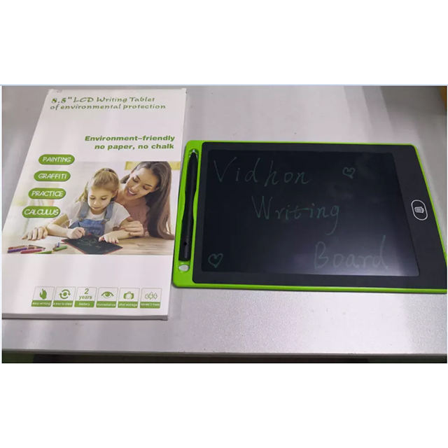 Environmental protection 8.5 inch lcd writing tablet tablet lcd writing kids writing tablet