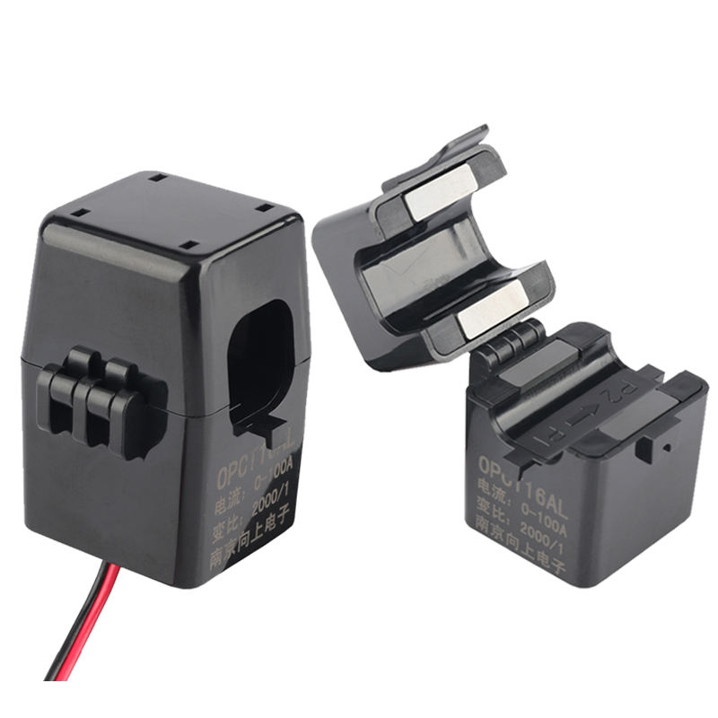 China manufacture OPCT16AL 100A/100mA ac China electric mini split core current transformer