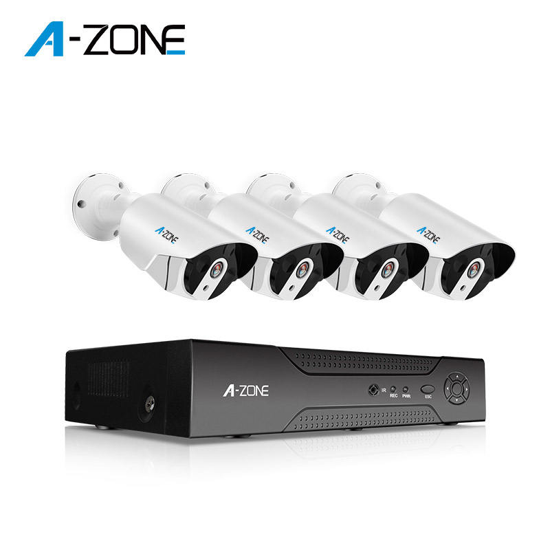 Motion Dectetion 4Channel Ahd Dvr Cctv Camera 2 Mp Kit