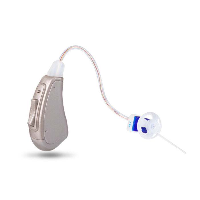 Mini size high quality open fit powerful digital hearing aid